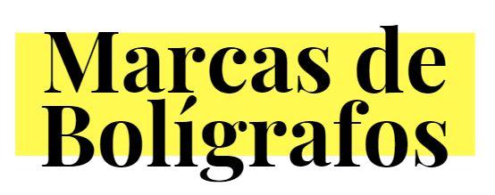 Marcas de Boligrafos