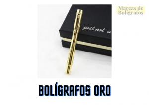 comprar boligrafos oro