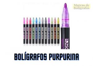 comprar boligrafos purpurina