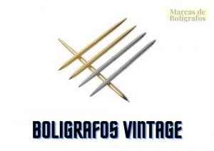 comprar boligrafos vintage